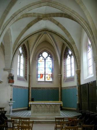 Restauration du choeur de l'Eglise d'Aulnoy (Seine et Marne)