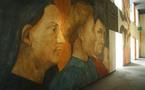 Fresque - Chantier de la Caisse d'Epargne